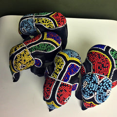 Beaded Elephants