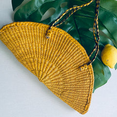 The Orange & Lemon Slice Basket Bag