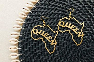 Queen & Mama & Africa earrings (3 styles)