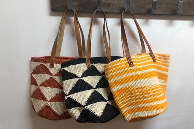 Stylish Sisal Basket Bag