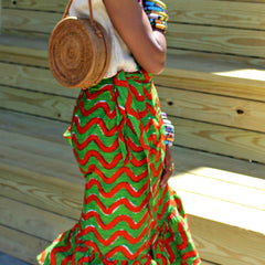 Labadi Beach -  Wrap Skirt (2 Prints)
