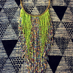 Stylish Fringe Necklace (5 colors)