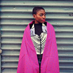 Maasai Blanket: Perfect as Shawl & Throw