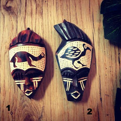 Mini Wood Masks