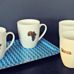 Sipping Tea or Coffee in Style: The Africa Mug & The Queen Mug