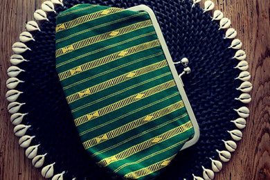 Striped Pouches