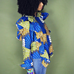 Ruffle Blouse (10 different prints)