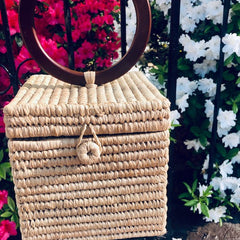 Summer Must-Have: Square Basket Box Bag