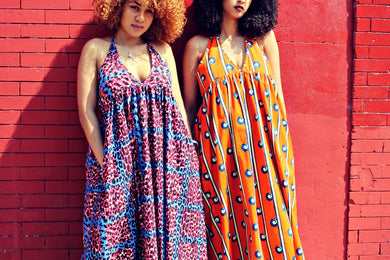 Zanzibar Summer Dress (2 prints)