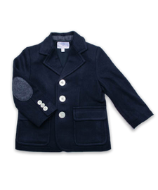 boys' blazer, navy tweed