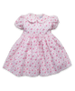 Cotton Rachel Dress in Ditsy Pink