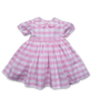 Rachel Dress in Pink Bold Check