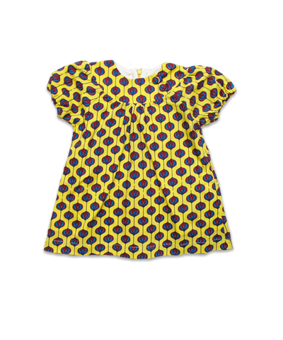 Eden Dress in Yellow Bulb