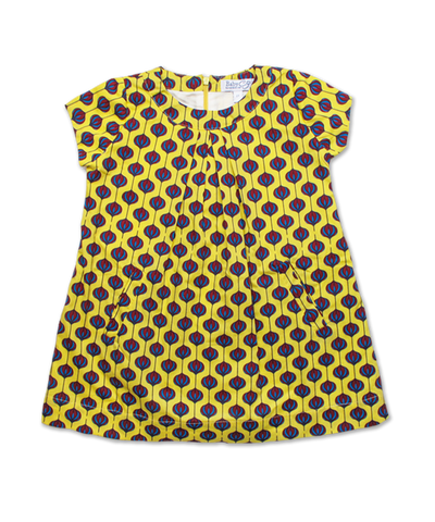 Willow Dress in Yellow Bulb