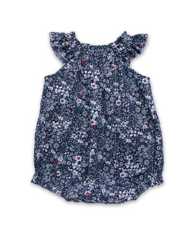 Baby Bubble in Ditsy Navy Floral