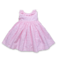 Ruffle Collar Dress in Pink Poppy