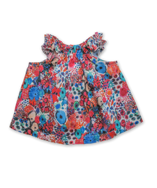 Peasant Top in Liberty Small Artist Bloom
