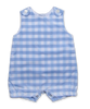 Cotton Shortall in Blue Bold Check