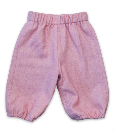 Tweed Bubble Pant in Pink