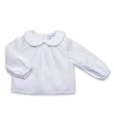 Peter Pan Peasant Shirt in White