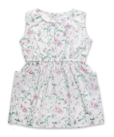Filipa Dress in Dainty Floral Pink