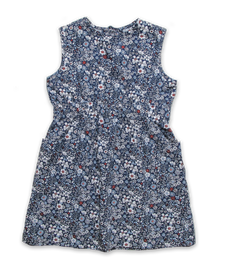 Filipa Dress in Ditsy Navy Floral