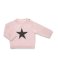 Cashmere Star Sweater in Pink