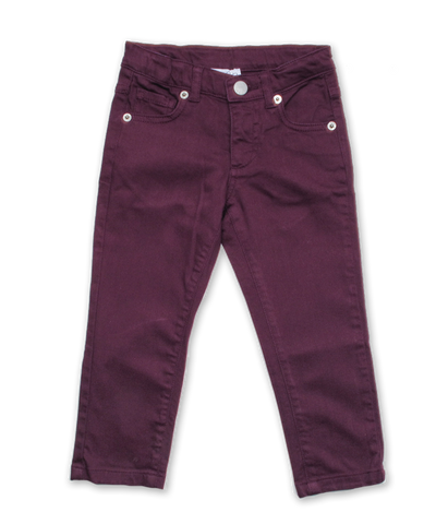 Girl's Skinny Jean in Purple