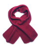 Ribbed Scarf in Fuschia