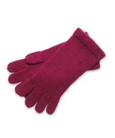 Cashmere Glove in Fuschia
