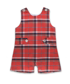 Shortall in Burnt Orange Plaid