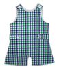 Shortall in Green/Marine Plaid