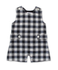Shortall in Navy Flannel Check