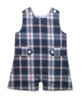 Shortall in Navy Plaid