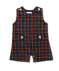 Shortall in Red/Yellow/Navy Plaid