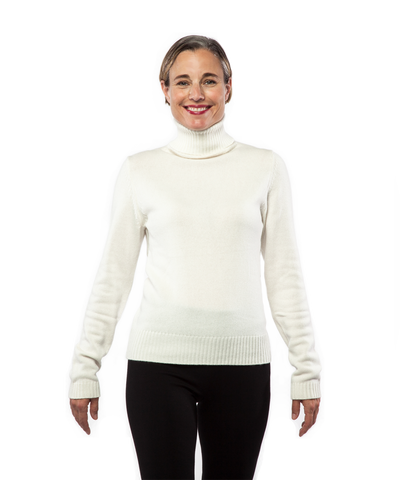 Turtleneck in Creme