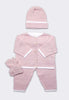 The Button Me Up Set in Pink