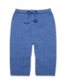 Cashmere Baby Pant in French Blue