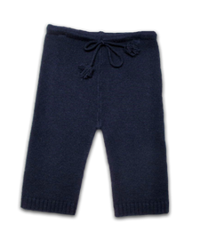 Cashmere Baby Pant in Navy