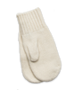 Cashmere Mittens in Creme