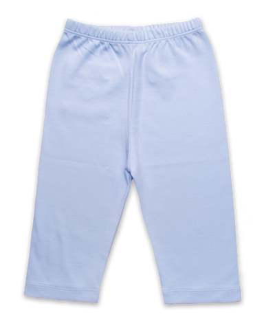 Pima Cotton Baby Pant in Blue