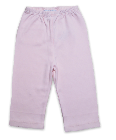 Pima Cotton Baby Pant in Pink