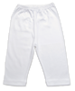 Pima Cotton Baby Pant in White