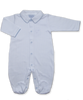 onesie with boys' collar in Tiny Dot Print, Blue