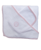 Bath Towel and Cloth Set in Pink
