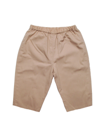 Cotton Baby Pant in Khaki