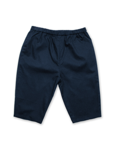 Cotton Baby Pant in Navy