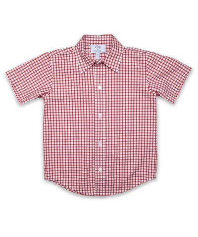 Shirt inRed/Navy Check