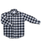 Longsleeve Shirt in Navy Flannel Check