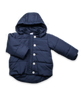 Quilted Snow Jacket in Navy